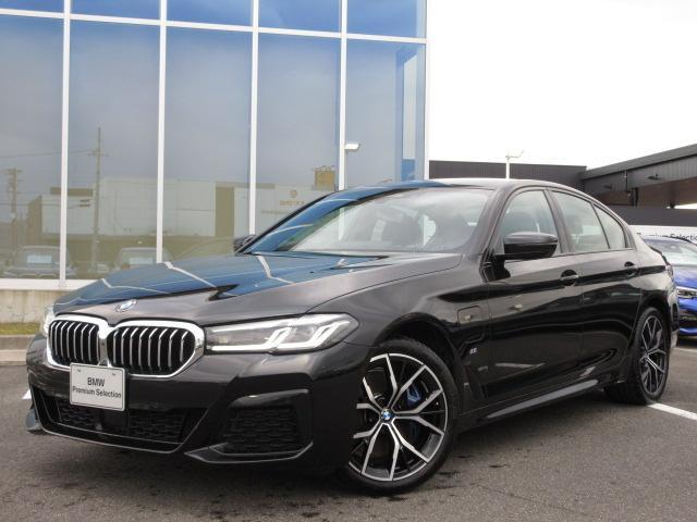 BMW 530e Mスポーツ エディションジョイ+ LCI プラグインハイブリッド ブラウンレザーシート シートヒーター ベンチレーション LEDヘッドライト アクティブクルーズコントロール 19インチAW 電動トランク デモカー禁煙車 2年保証