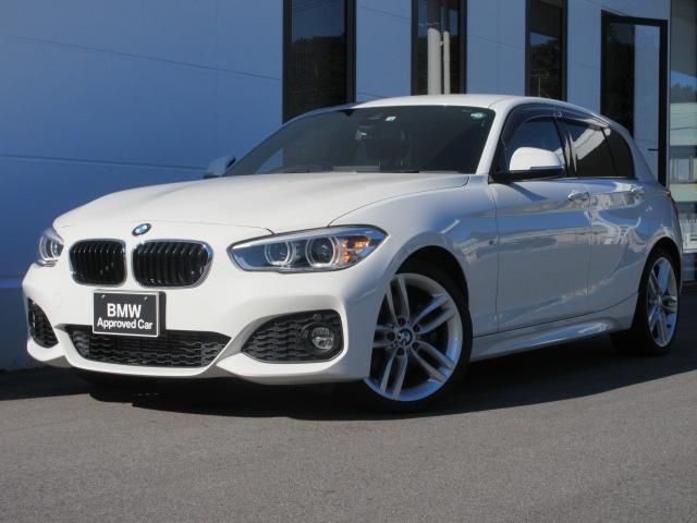 BMW 1シリーズ 118d Mスポーツ コンフォートパッケージ コンフォートアクセス パーキングサポートパッケージ バックカメラ クルーズコントロール18インチAW 社外地デジ 禁煙車 1年保証