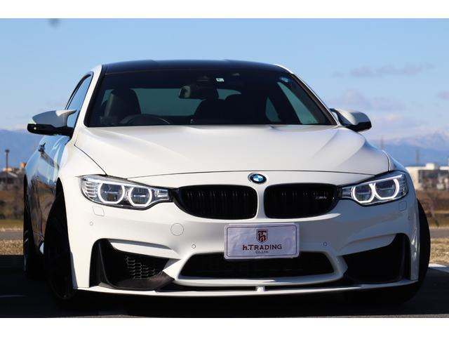 BMW M4クーペ 鍛造19AW 法人1オーナー HUD
