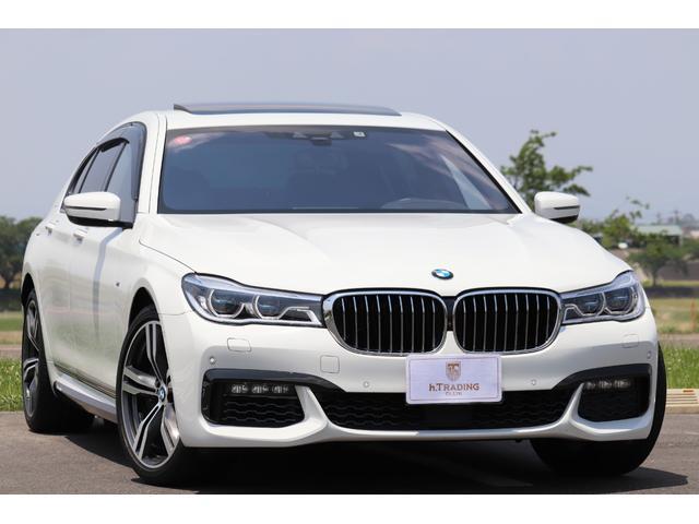 BMW 750i Mスポーツ 左H 新車保証付 リモートパーキング