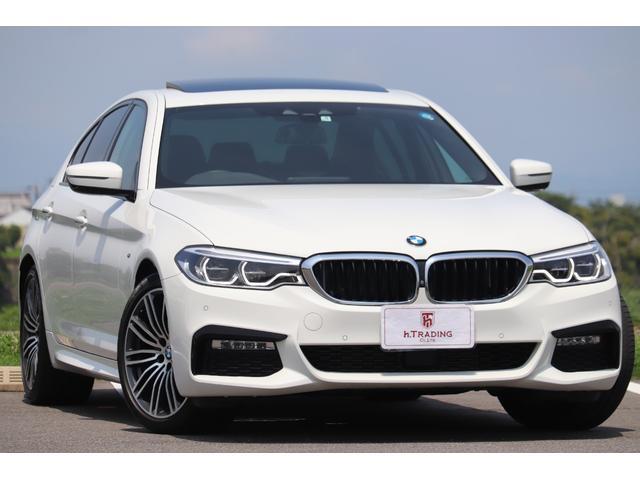BMW 523d Mスポーツ 新車保証付 SR 19AW LED