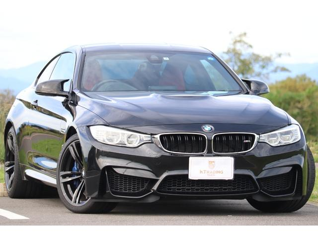 BMW M4クーペ カーボンルーフ op19AW レッドレザー
