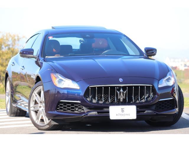 マセラティ S グランルッソ ゼニア内装 1オーナー 新車保証付