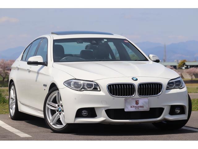 BMW 535i Mスポーツ 後期LCI 1オーナー 黒革/SR