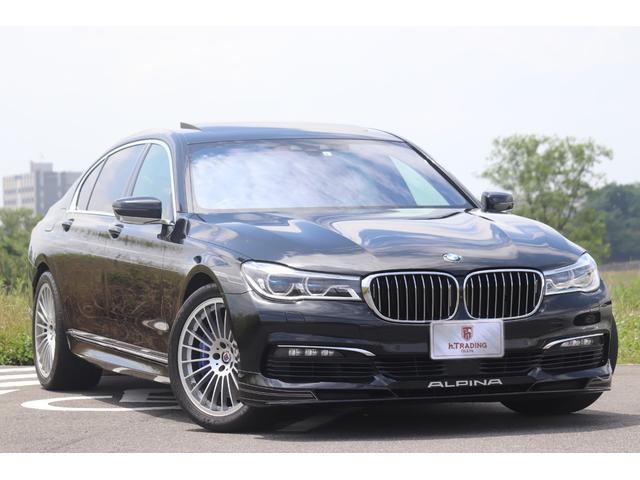 BMWアルピナ B7 ビターボ リムジンロング 医療法人1オーナー レーザーライト SWITCH‐TRONIC ジェスチャーコントロール ヘッドアップディスプレイ アルピナ・クラシック鍛造20AW インテリジェントセーフティ