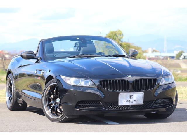 BMW Z4 sDrive35i 電動オープン 7DCT リトラクタブルハードトップ ADVAN RACING RS-D18AW 3Dデザインマフラー カーボンディフューザー ブラックナッパレザー