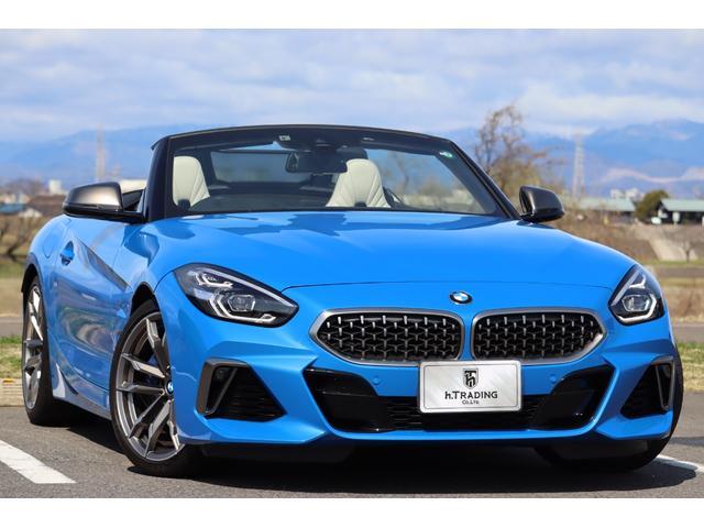 BMW Z4 M40i 新車保証付 harman/kardon 電動ソフトトップ エアスカーフ 19アロイホイール バリアブルスポーツステアリング ローンチコントロール機能 アダプティブMサスペンション