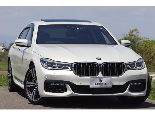 BMW 750i Mスポーツ 法人1オーナー レーザーライト インテリジェントセーフティ BMWディスプレイ・キー コンフォートアクセス Mスポーツ専用ナッパレザーシート(マッサージ機能付) SR 純正HDD ジェスチャーC