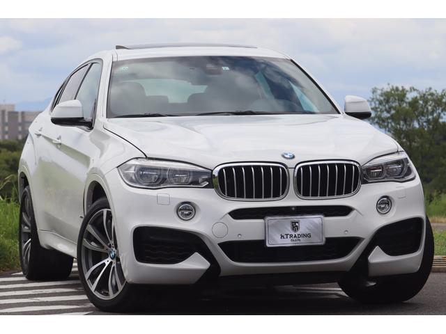 BMW X6 xDrive 50i Mスポーツ 1オーナー キドニーグリル 20AW 黒革シート サンルーフ 純正HDDナビ インテリジェントセーフティ ACC レーンキープアシスト アンビエントライト 電動テールゲート ヘッドアップディスプレイ