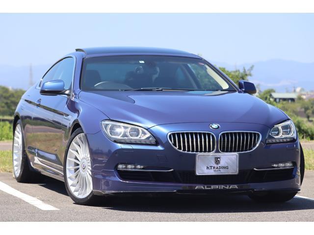 BMWアルピナ B6 ビターボ クーペ 8速スイッチトロニック アクラポビッチ製マフラー ALPINAクラシック20AW ALPINAブルー ALPINAデコライン 330kmスケール専用ブルーメーター 社外BOSE社製スピーカー