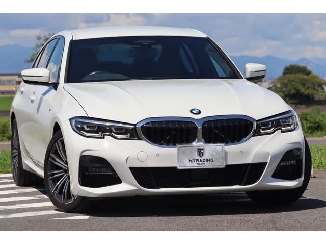 BMW 3シリーズ 320d xDrive Mスポーツ 1オーナー 新車保証付 コンフォートパッケージ カーボントランクスポイラー BMWライブコックピット 社外地デジチューナー 電動トランク アクティブクルーズコントロール アクティブエアストリーム