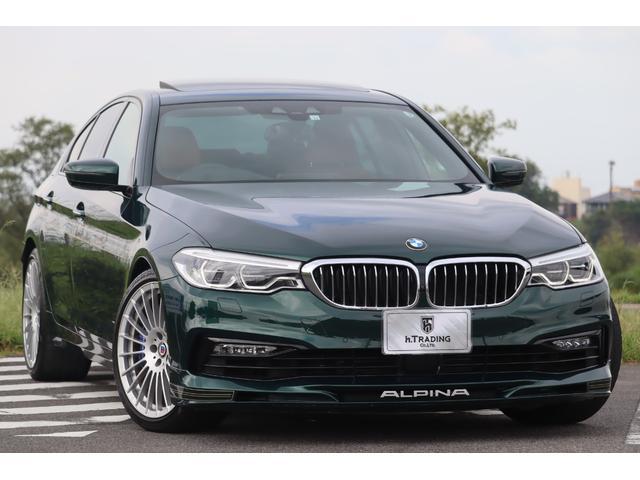 BMWアルピナ S リムジン オールラッド 医療法人1オーナー ダコタレザーインテリア ベンチレーター サンルーフ harman/kardon 鍛造20AW ステアリングヒーター ソフトクローズドドア 電動トランク ヘッドアップディスプレイ