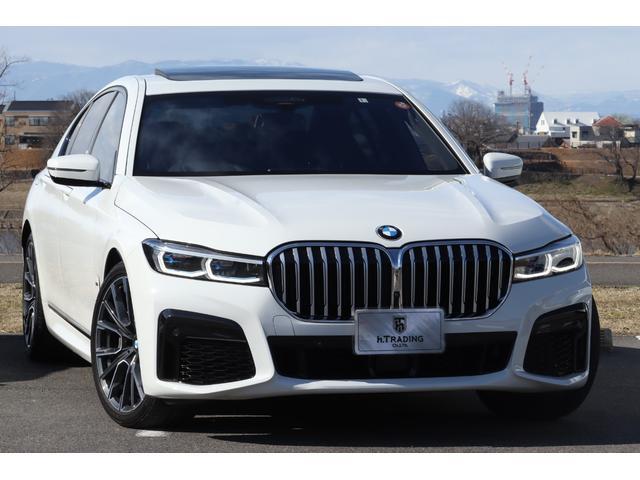 BMW 750i xDrive Mスポーツ 後期 新車保証付 レーザーライト harman/kardon 20鍛造AW ジェスチャーコントロール ワイヤレスチャージ 電動テールゲート ナッパレザー コックピットディスプレイ ACC HUD