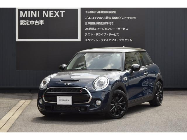 MINI クーパーS ペッパーPKG・LEDライト・純正ナビ
