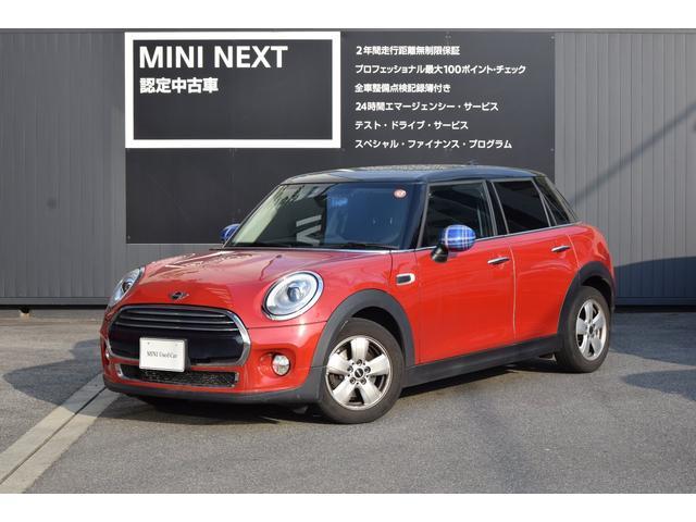 MINI クーパーD ペッパーPKG・LEDライト・純正ナビ