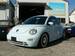VW ニュービートルローダウン ホワイトリボン