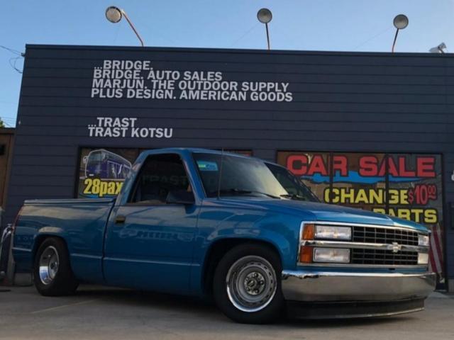 シボレー シングルキャブ 自社輸入 5.7 V8 オールペン済み