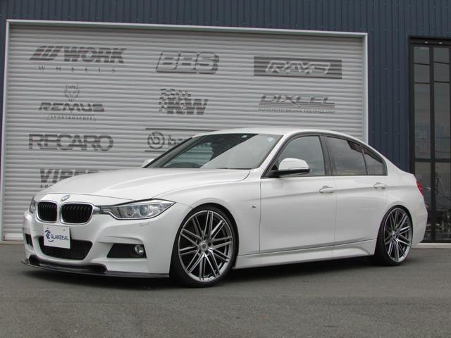 BMW 320i Mスポーツ 新品 BC車高調 クリムソン20AW
