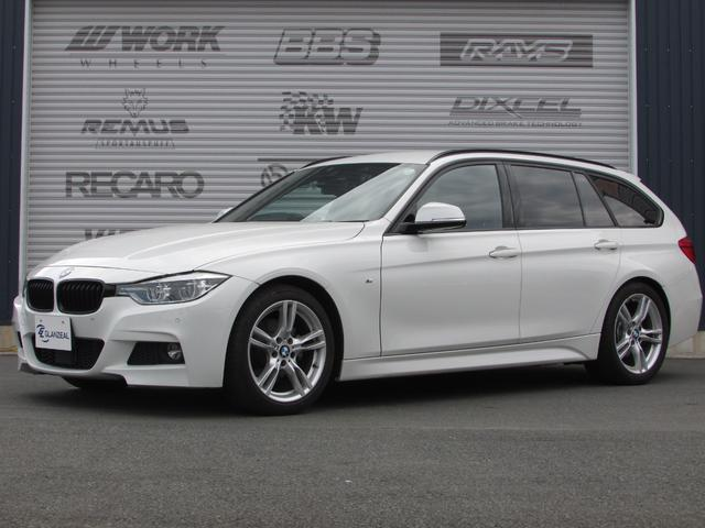 BMW 320dツーリング Mスポーツ ワンオーナー 地デジチューナー 純正18インチAW