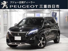 プジョー 5008GT ブルーHDi 純正ナビ ドラレコ 新車保証継承