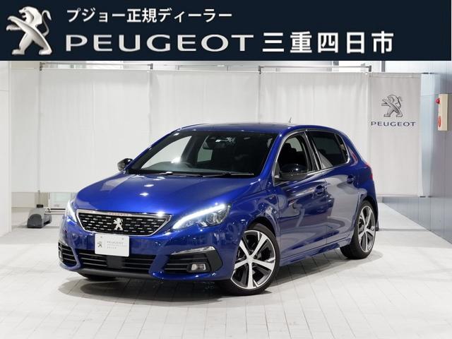 プジョー GT ブルーHDi 8AT ナビ ドラレコ 新車保証継承