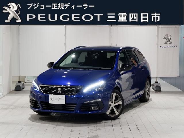 プジョー SW GTライン ブルーHDi 8AT 純正ナビ ドラレコ