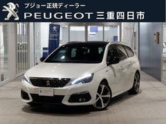 プジョー 308SWGT BlueHDi 8AT ガラスルーフ 新車保証継承