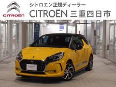 シトロエン DS3スポーツシック 6MT 新車保証継承 純正ドライブレコーダー
