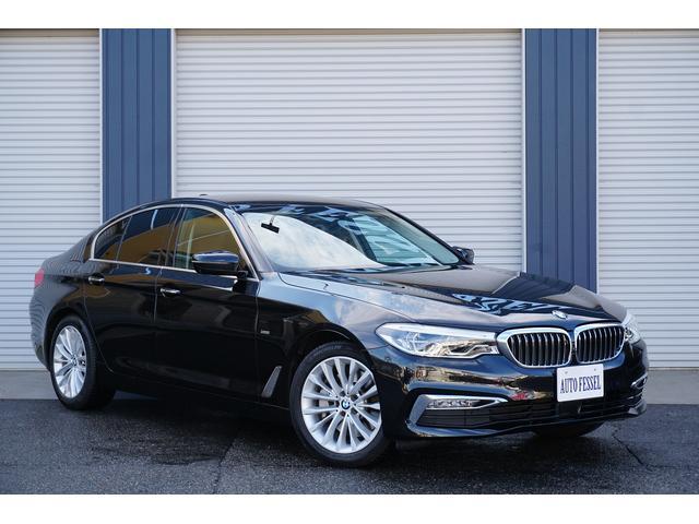 BMW 530iラグジュアリー 黒革 ユーザー様下取車 ACC