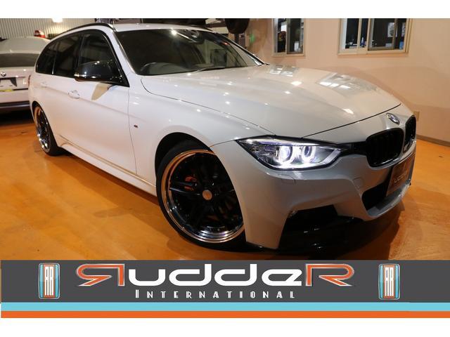 BMW 320dMスポーツ ワーク20AW 4本出マフラー カーボン