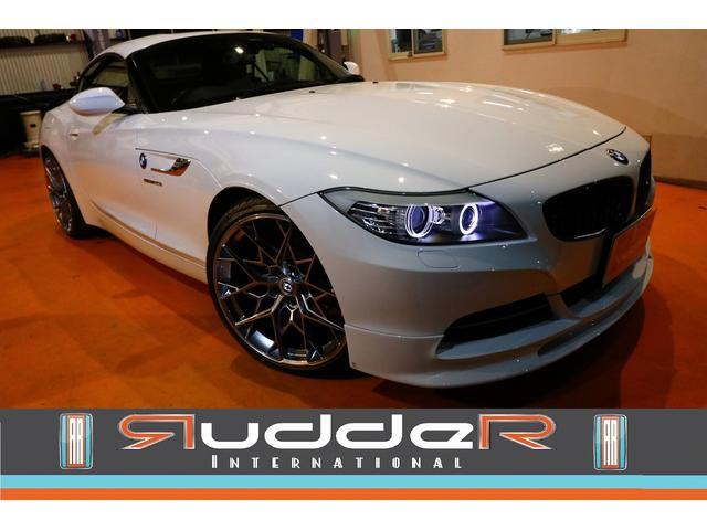 BMW sDrive20iクルージングエディション 後期 限定車 HRE20インチアルミ 3Dデザインエアロ カーボンスポイラー バックカメラ 黒革シート 社外ブラックグリル 限定車専用サーボトロニック装備車 ウインドディフレクター シートヒーター