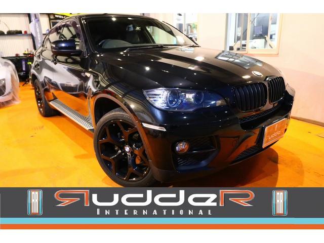 BMW X6 xDrive 35i 後期 純正OP20インチ 黒革 サンルーフ シートエアコン リアエアコンパネル付 走行中TV視聴出来マス Bluetooth ブラックグリル 3.2万km 後期ナビ サイドステップ 電動リアゲート