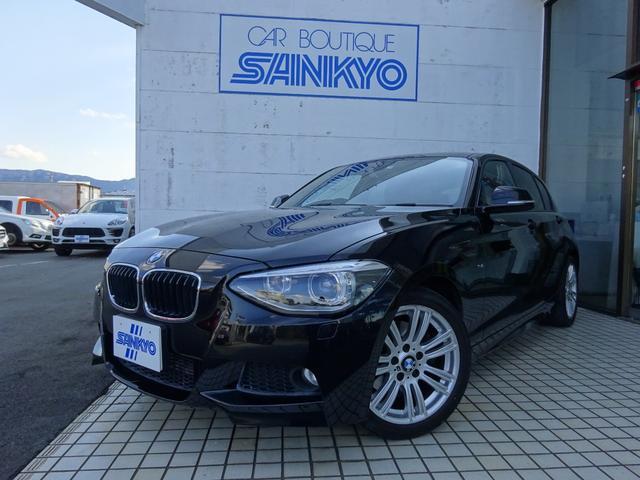 BMW 116i Mスポーツ 純正HDDナビ スマートキー