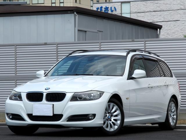 BMW 320iツーリング 黒革シート Wサンルーフ