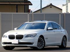 BMWアクティブハイブリッド7 サンルーフ 黒革シート