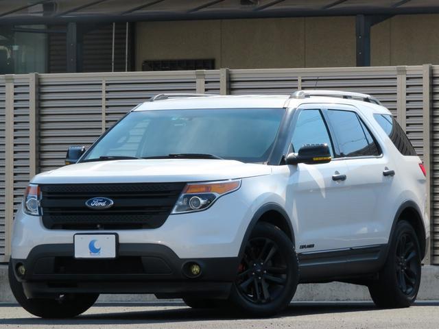 フォード XLT エコブースト ワンオーナー ベージュレザーシート