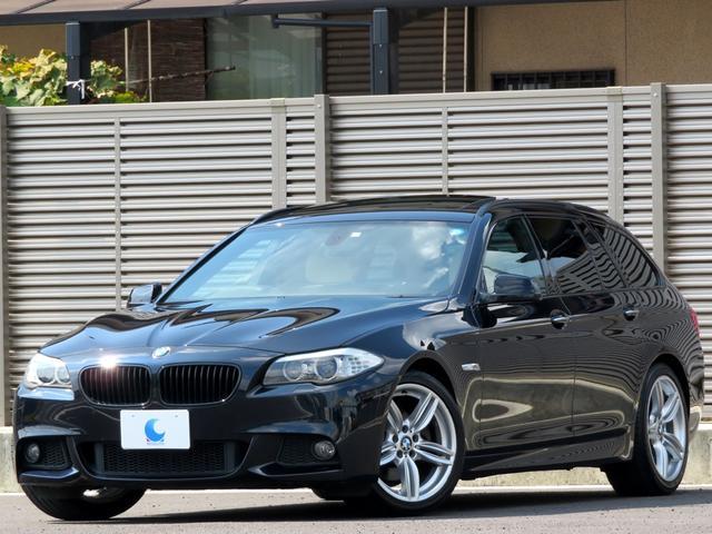 BMW 528iツーリング Mスポーツパッケージ ベージュレザー