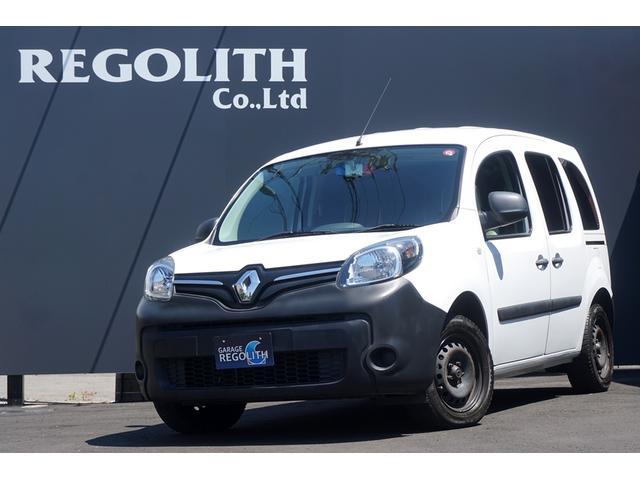 ルノー カングー アクティフ 5速MT 純正15インチホイール 純正オーディオデッキ CD Bluetooth ETC チャイルドミラー シートカバー 両側スライドドア ダブルバックドア オーバーヘッドコンソール スペアキー
