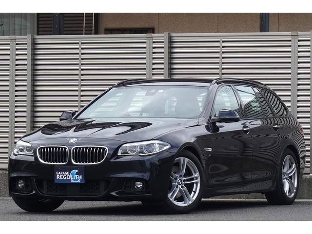 BMW 523dツーリング Mスポーツ 後期モデル ワンオーナー ディーゼルターボ マルチディスプレイ LEDヘッドライト 純正HDDナビ 地デジフルセグTV Bluetooth リアビューカメラ ドラレコ アイドルストップ スマートキー