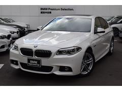BMW528i Mスポーツ サンルーフ 黒レザー 1オーナー禁煙