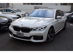 BMW740d xDrive Mスポーツ 黒レザー サンルーフ