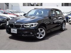 BMW118d スポーツ デモカー禁煙車 パーキングPKG