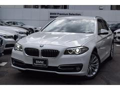 BMW523iツーリング ラグジュアリー 1オナ禁煙 黒レザー