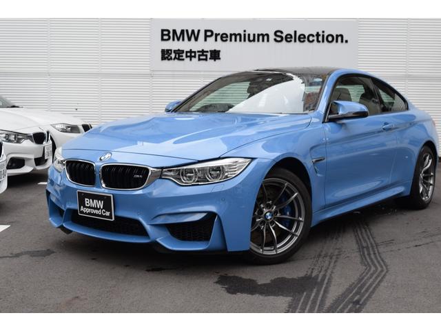 BMW M4クーペ 弊社デモカー 黒レザー カーボンルーフ