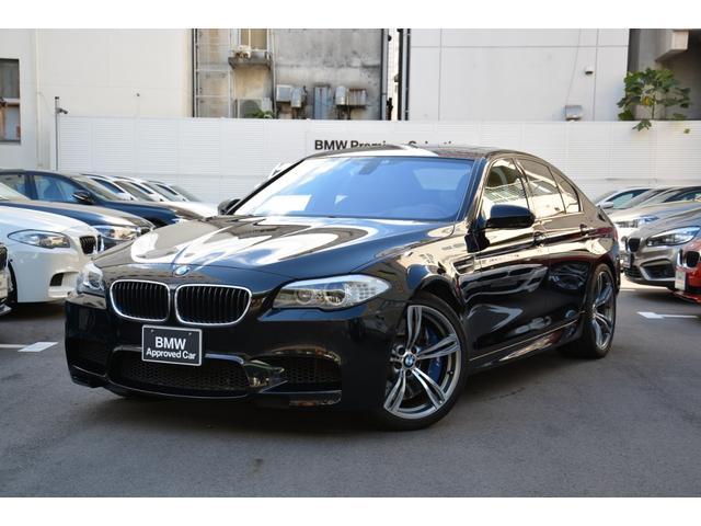BMW M5 左H 黒革 ワンオーナー禁煙車 サンルーフ 20インチ