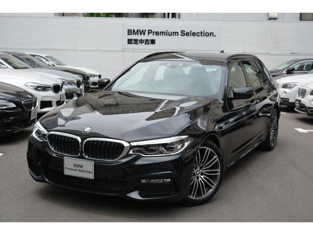 BMW 523iツーリング Mスポーツ 登録済未使用車 HDDナビ