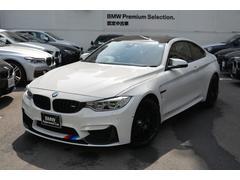 BMW M4M4クーペ コンペティション ワンオナ禁煙車 黒革 ETC