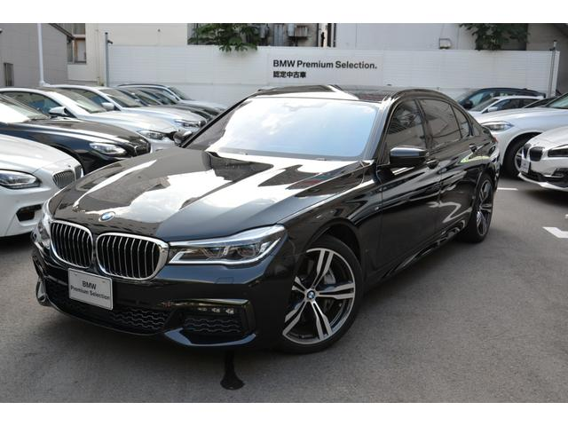 BMW 750Li Mスポーツ デモカー 黒革 Rモニターサンルーフ