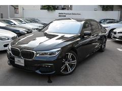 BMW750Li Mスポーツ デモカー 黒革 Rモニターサンルーフ