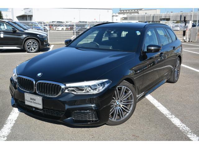 BMW 530iツーリング Mスポーツ 弊社デモカー 黒レザー